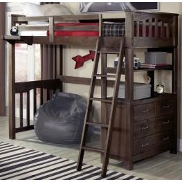 Highlands Espresso Twin Loft Bed