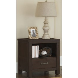 highlands espresso nightstand