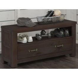 Highlands Espresso Dressing Bench