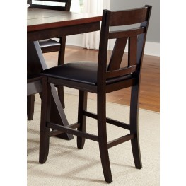 Lawson Splat Back Counter Chair Set of 2