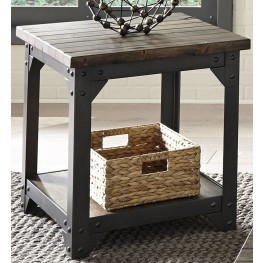 Caldwell Brown End Table