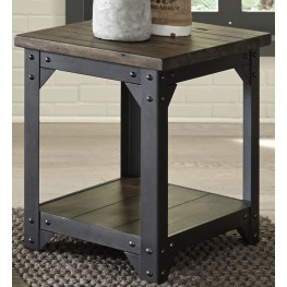 Caldwell Brown Chair Side Table