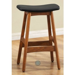 Ride 24 Inch Black Stool Set of 2