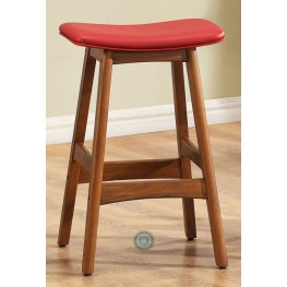 Ride 24 Inch Red Stool