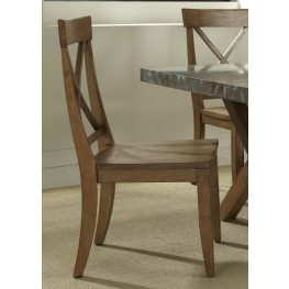 Keaton X Back Side Chair Set of 2