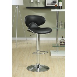 Black Bar Stool 120359 Set of 2