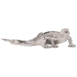 Bright Nickel Plated Lizard