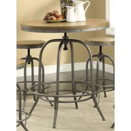 Modern Antique Black Adjustable Bar Table