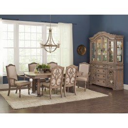 Ilanadining Antique Linen Dining Room Set