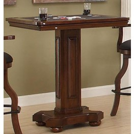Guinness Distressed Walnut Pub Game Table