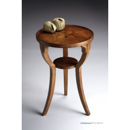 Olive Ash 1328101 Round Accent Table
