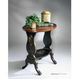 Regal Black 1336088 Accent Table