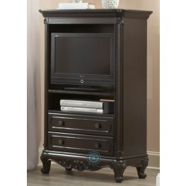 Cinderella Dark Cherry Armoire