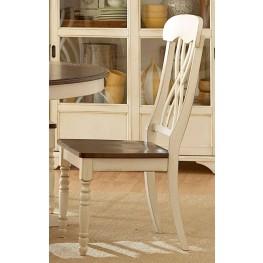 Ohana White Side Chair Set of 2