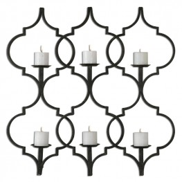 Zakaria Metal Candle Wall Sconce