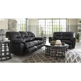 Kilzer DuraBlend Black Reclining Living Room Set