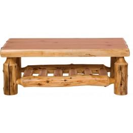 """Cedar 24"""" Open Standard Coffee Table"""