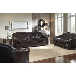 Lucinda Toberlone Leather Living Room Set