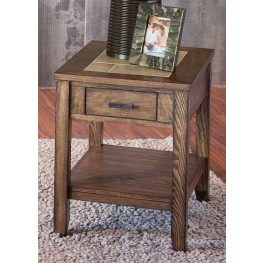 Mesa Valley Tobacco Chair Side Table