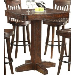 Gettysburg Dark Distressed Pub Table