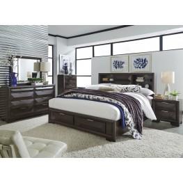 Newland Bedroom Brown Storage Bedroom Set