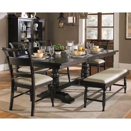 Whitney Trestle Extendable Dining Room Set
