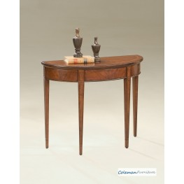 Plantation Cherry 1533024 Demilune Console Table