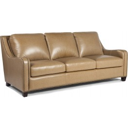 Denver Buckskin Leather Sofa