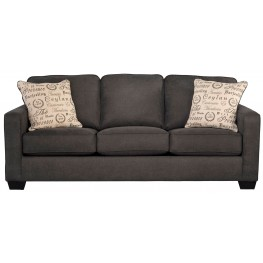 Alenya Charcoal Fabric Sofa
