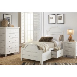 Chesapeake Distressing and Subtle Youth Storage Bedroom Set