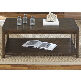 Dockside Tobacco Cocktail Table