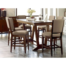 Elise Stella Counter Height Dining Room Set