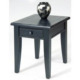 Treasures Black End Table