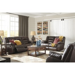 Levelland Cafe Reclining Living Room Set