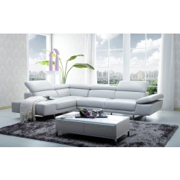 1717 Italian Leather LAF Sectional