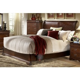Karla Cal. King Sleigh Bed
