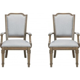 Dining Arm Chair by Donny Osmond Set of 2