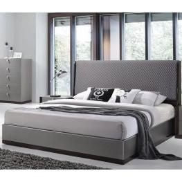 Sorrento Gold Queen Platform Bed