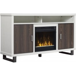 """ClassicFlame White Van 54"""" Horne TV Stand"""