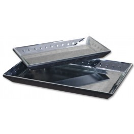 Alanna Mirrored Decorative Trays  Set of 2