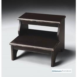 Brusged Sable Step Stool & Discounts on Bedroom Vanity Tables | Coleman Furniture islam-shia.org