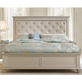 Celandine Silver Cal. King Panel Bed