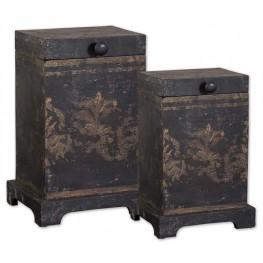 Melani Decorative Boxes, Set of 2