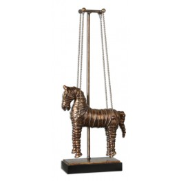 Stedman Horse Copper Bronze Sculpture