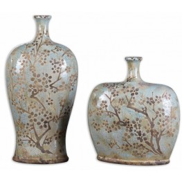 Citrita Decorative Ceramic Vases Set of 2