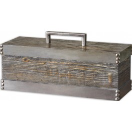 Lican Natural Wood Decorative Box