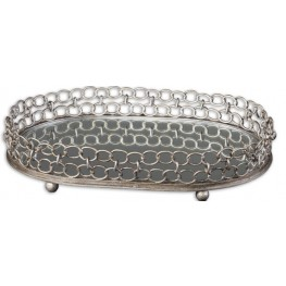 Lieven Mirrored Decorative Tray