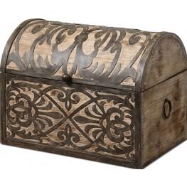 Abelardo Rustic Wooden Box