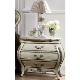 Elsmere Antique Grey Nightstand