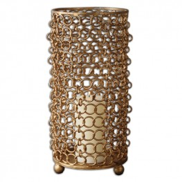 Dipal Gold Candleholder